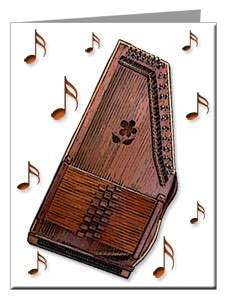 Note Cards - Autoharp Note Cards