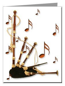 Note Cards - Bagpipes Note Cards