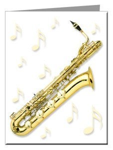 Note Cards - Baritone Sax Note Cards