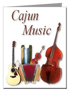 Note Cards - Cajun Music Note Cards