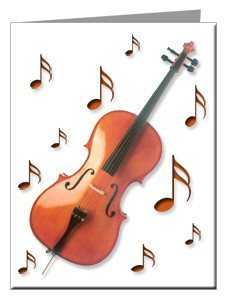Note Cards - Cello Note Cards