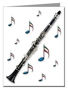 Note Cards - Clarinet Note Cards