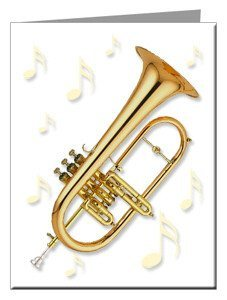 Note Cards - Flugelhorn Note Cards