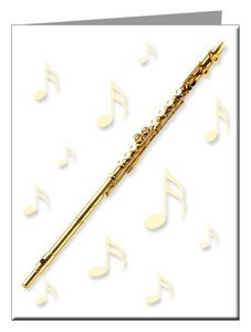 Note Cards - Flute Note Cards