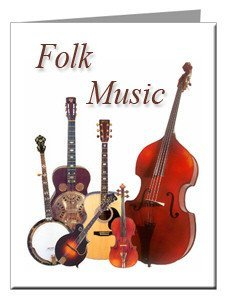 Note Cards - Folk Music Note Cards