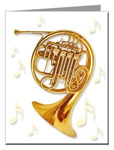 Note Cards - French Horn Note Cards