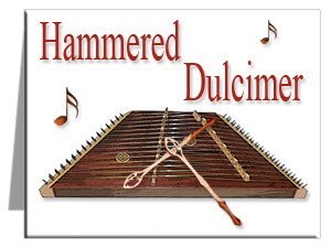Note Cards - Hammered Dulcimer Note Cards