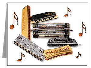 Note Cards - Harmonica Note Cards