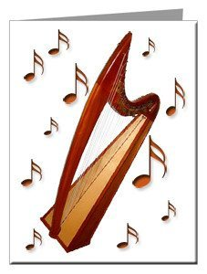 Note Cards - Harp Note Cards