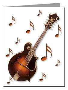 Note Cards - Mandolin Note Cards