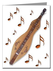 Note Cards - Mountain Dulcimer Note Cards