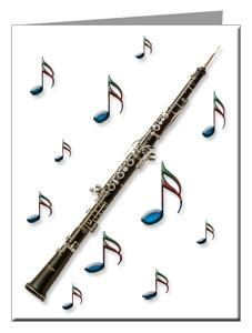 Note Cards - Oboe Note Cards