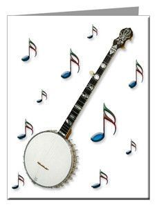 Note Cards - Old-Time Banjo Note Cards