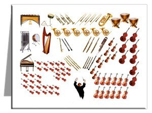 Note Cards - Orchestra Note Cards