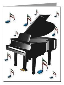 Note Cards - Piano Note Cards
