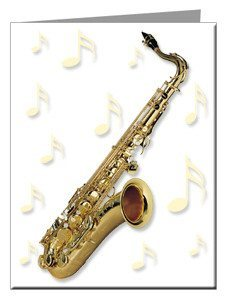 Note Cards - Saxophone Note Cards
