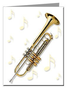Note Cards - Trumpet Note Cards