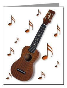 Note Cards - Ukulele Note Cards