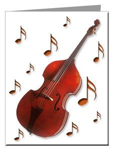 Note Cards - Upright Bass Note Cards