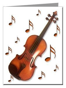Note Cards - Viola Note Cards