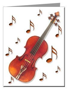 Note Cards - Violin Note Cards