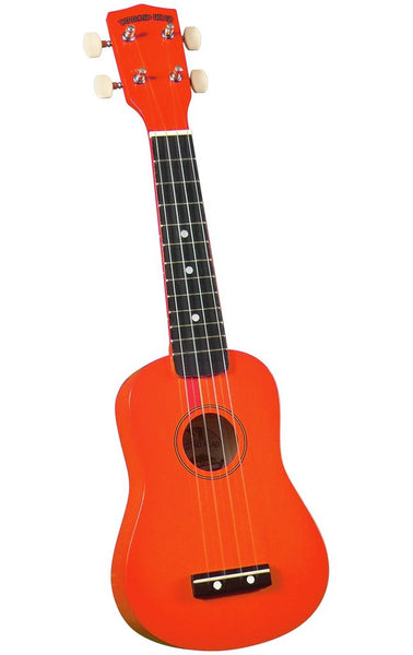 Ukuleles - Orange Soprano Ukulele