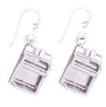 Organ Sterling Silver Earrings