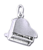 Charms - Piano Sterling Silver Charm