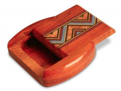 Pick Cases - Exotic Wood Flatpick Cases