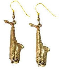 Earrings - Saxophone Earrings