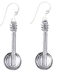 Banjo Sterling Silver Earrings
