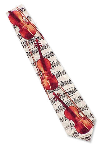 Neckties - Fiddle Necktie