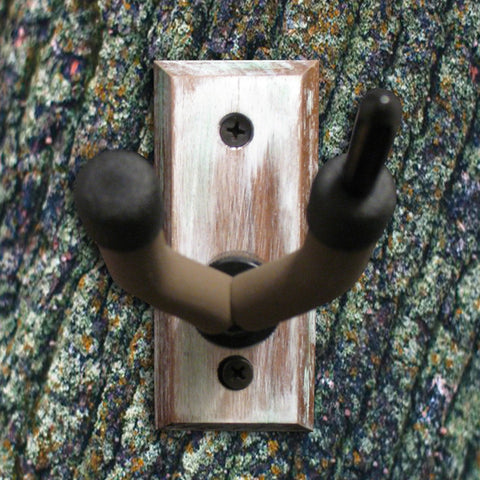 Violin Wall Hanger - Distressed Reclaimed Oak