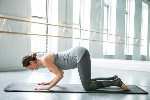 Pregnancy pilates mat workout