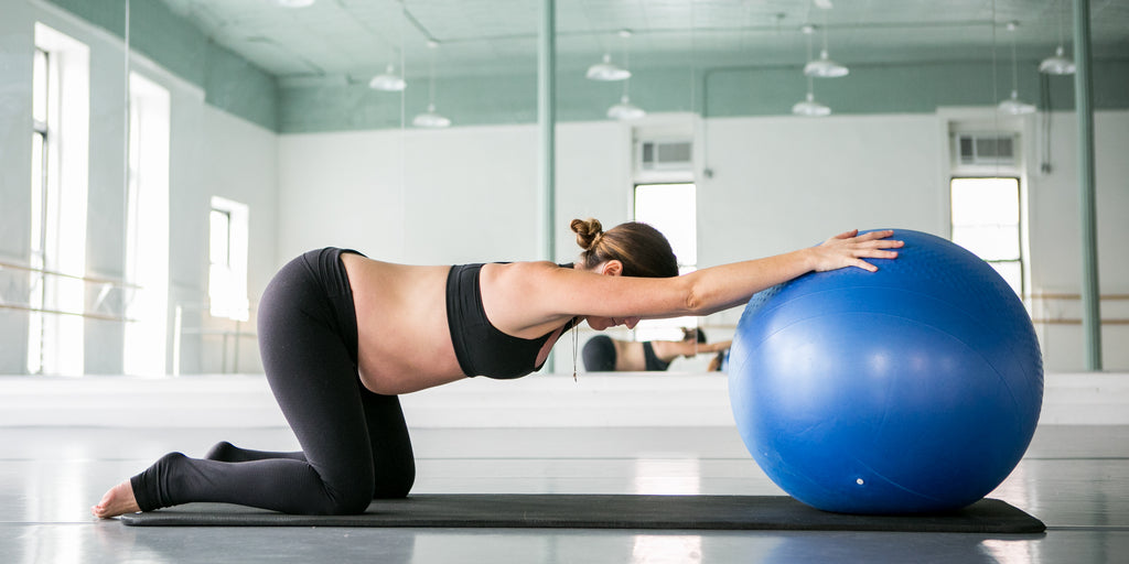 Prenatal pilates core workouts