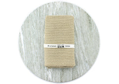 organic cotton hand towel (natural)