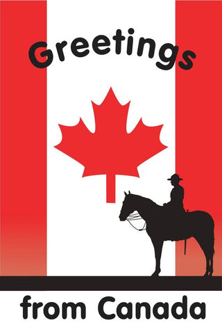Greetings from Canada - RCMP Postcard