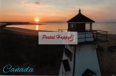 Lighthouse Sunset 2.0 Postcard