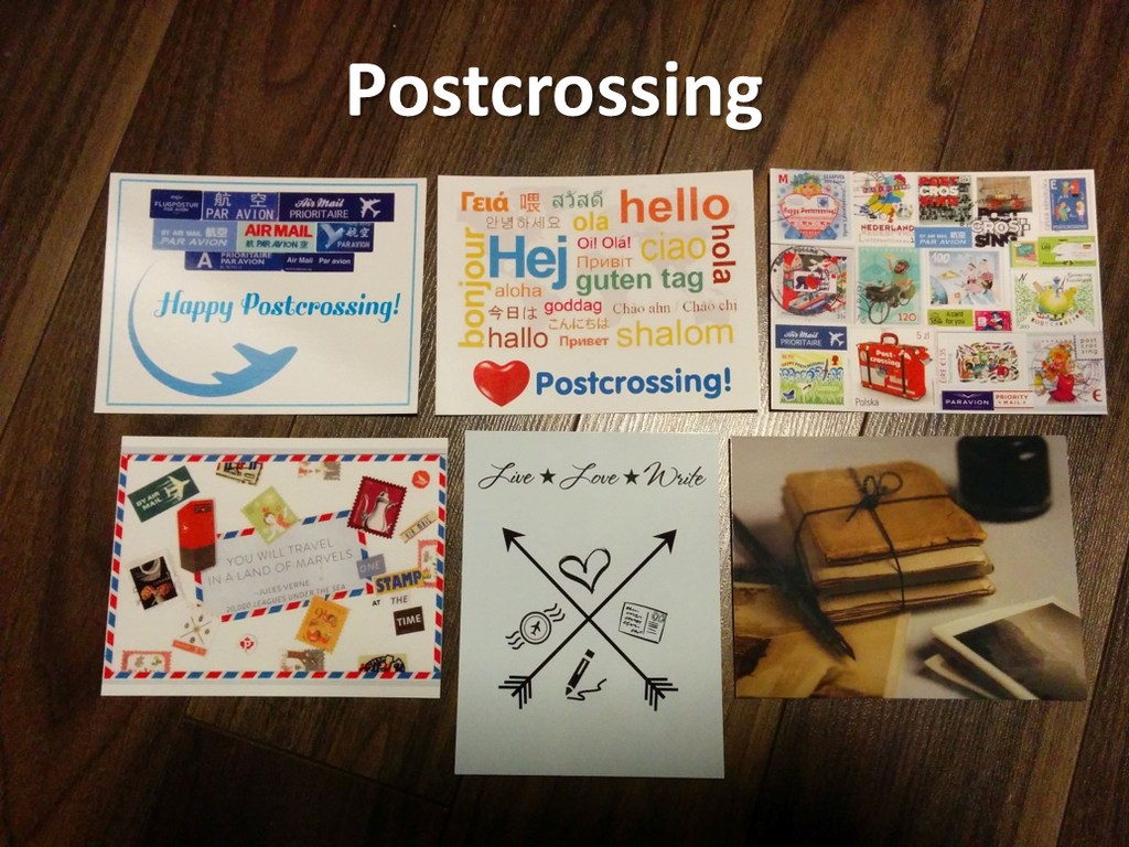 Postcrossing Envelope