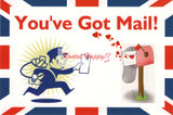 """You've Got Mail"" Postcard"