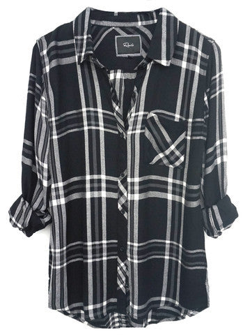 Black/white/grey Rails shirt