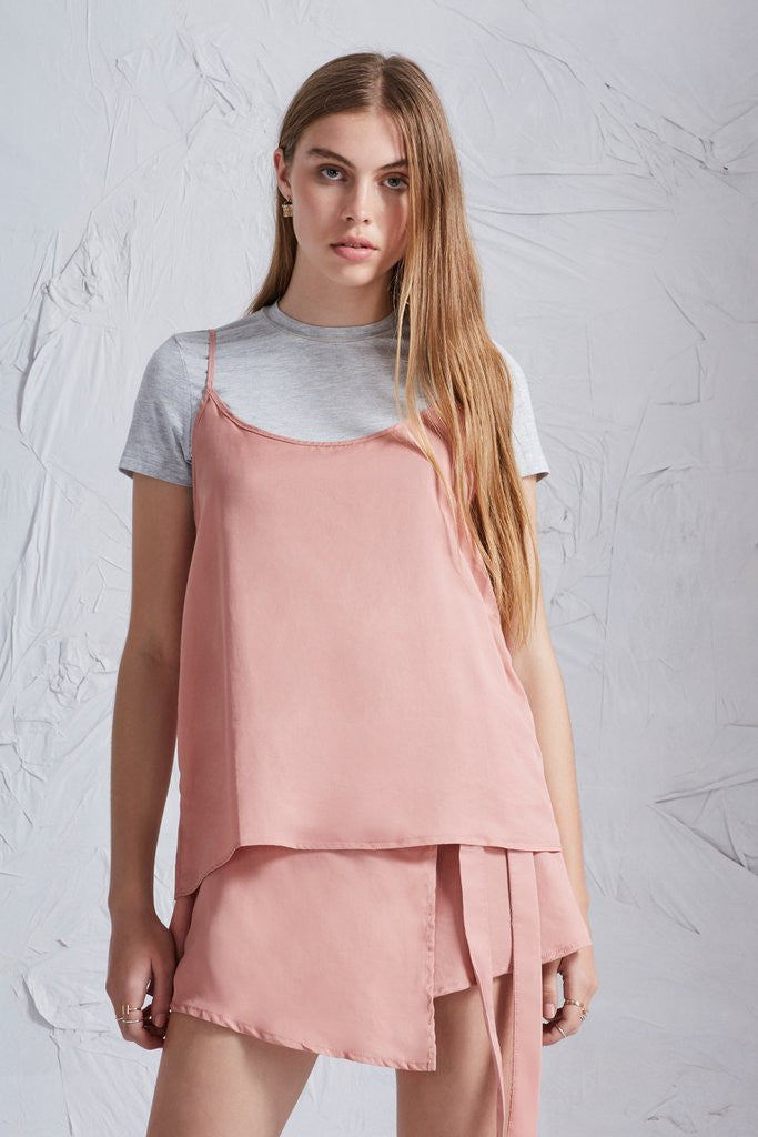 The harmony top in dusty rose from The Fifth Label