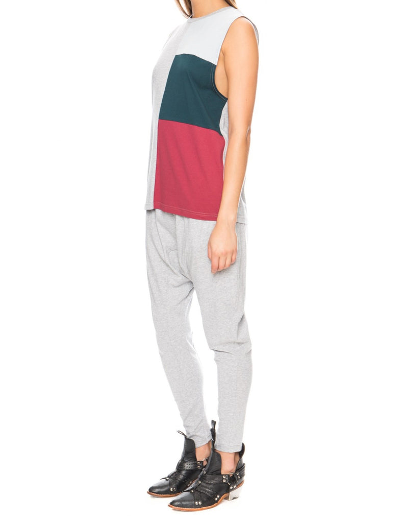 The store tricolour tank