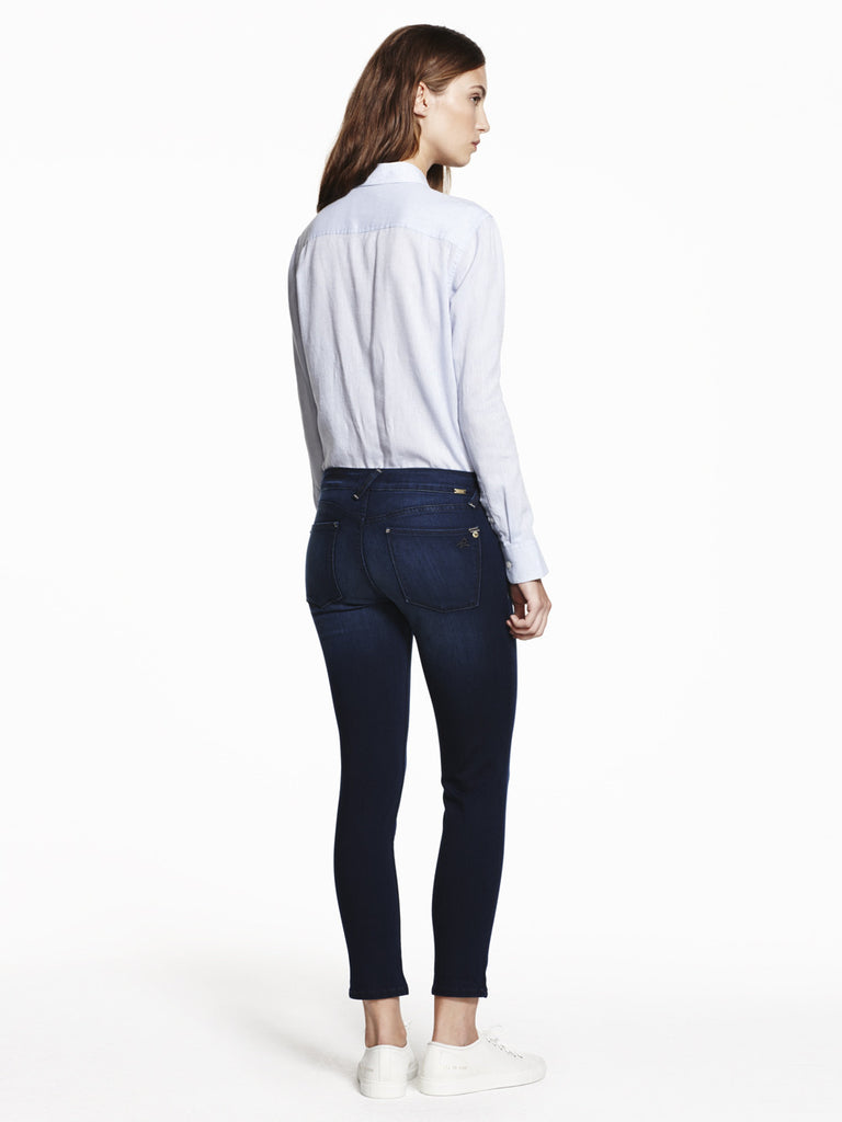 petite denim stretch