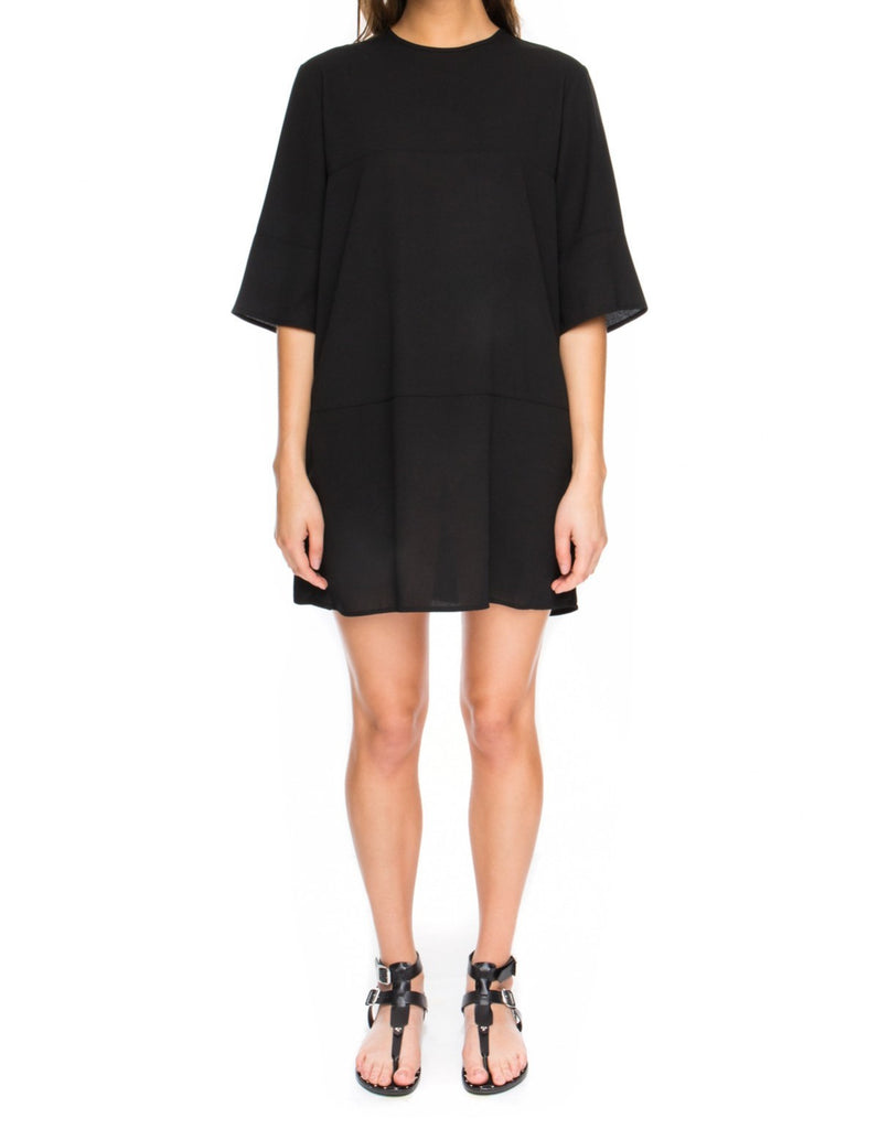 Daydreaming T-shirt Dress black