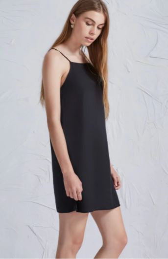 The Harmony dress in black from The Fifth Label