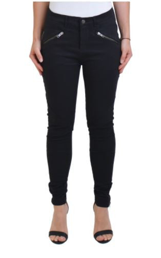 The until tomorrow pant in black from The Fifth Label