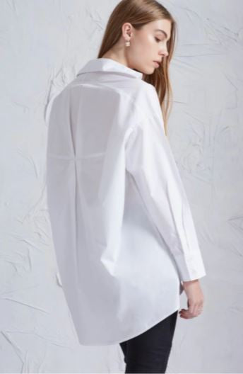 The until tomorrow white shirt from The Fifth Label