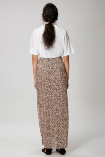 The passenger skirt in leopard print from The Fifth Label