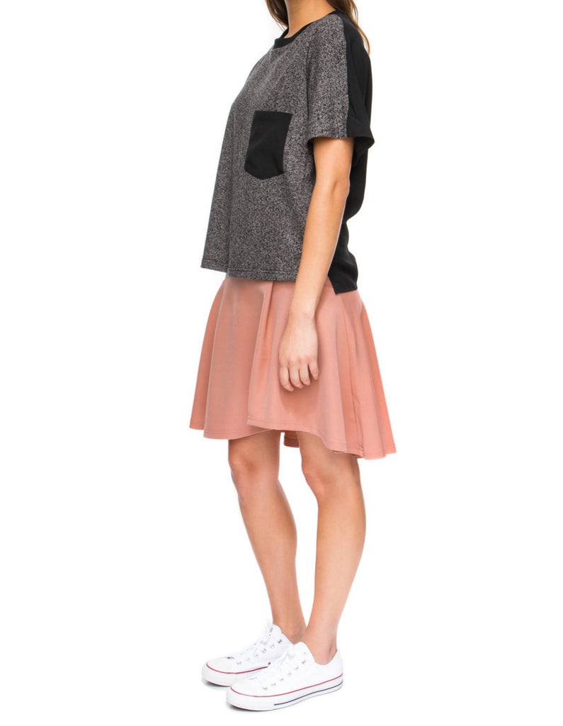 The Store grey marle top